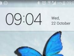 Butterfly in Phone lovely joke 1.0 Screenshot