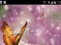butterfly spring flower 1.1 Screenshot