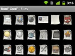 BuuF GuuF - Files ADW and Go 1.2 Screenshot