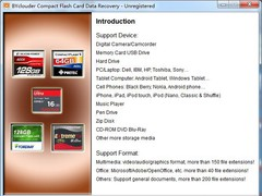 BYclouder Compact Flash Card Data Recovery 6.8.0.0 Screenshot