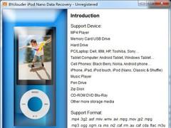 BYclouder iPod Nano Data Recovery 6.8.0.0 Screenshot