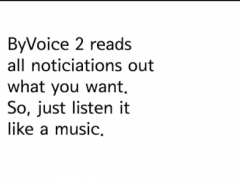 ByVoice2-Read notification out 2.3.10 Screenshot