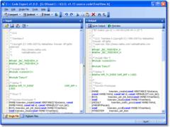 C++ Code Export 1.0.0 Screenshot