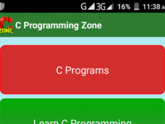 C Programming Zone 2.9 Screenshot