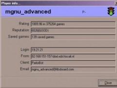 C4FIBS Backgammon client for FIBS 0.6.9.102 Screenshot
