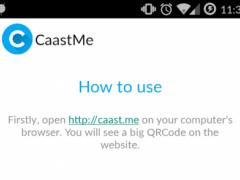 CaastMe 1.4 Screenshot