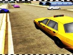 Cab Parking Taxi Drift Drive - Crazy City Rush Driver Test Run Sim 1.0 Screenshot