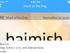 Cache Dictionary Pro for Dictionary.com 1.0 Screenshot