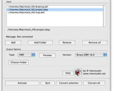 CAD File Converter M 3.0 Screenshot