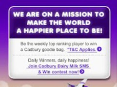 Cadbury Happier Mission 1.0.11 Screenshot