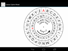 photograph about Printable Cipher Wheel named Caesar Cipher Disk 2.62 Cost-free Down load