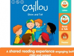 Caillou: Show and Tell by i Read With 1.1.3 Screenshot