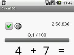 Calcu100 1.02 Screenshot