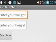 Calculate BMI 1.1 Screenshot