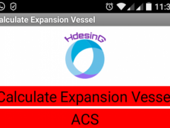 Calculate Expansion Vessel 1 Screenshot