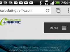 CALCULATINGTRAFFIC 0.1 Screenshot