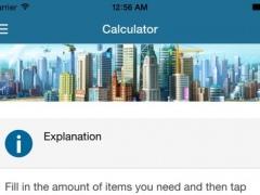 Calculator for SimCity BuildIt 2.1 Screenshot