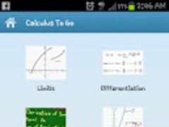 Calculus To Go 2.0 Screenshot