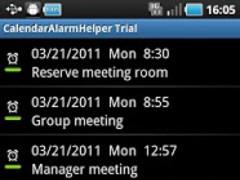 CalendarAlarmHelper 3.02.0 Screenshot