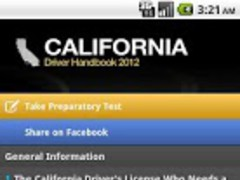 California Driver HandbookFree 2.1 Screenshot