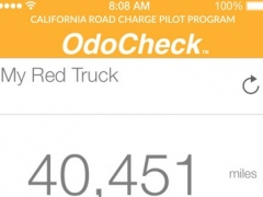 California Road Charge Pilot Program OdoCheck 1.1 Screenshot