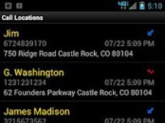 Call Locations 4.1.0 Screenshot