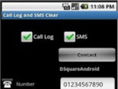 Call Log & SMS Cleaner 3.3 Screenshot