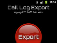 Call Log Export 1.1 Screenshot