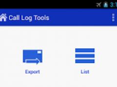 Call Log Tools 1.6.7 Screenshot