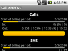 Call Meter NG 2.3.23 Screenshot