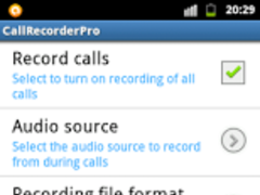 Call Recorder Jelly Bean Pro 1.0 Screenshot