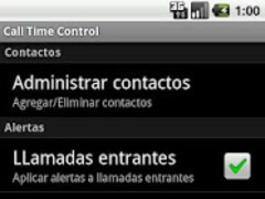 Call Time Control 1.4 Screenshot