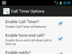 Call Timer Pro (Auto Redial) 1.4 Screenshot