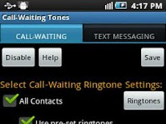 Call Waiting Ringtones free 4.0 Screenshot