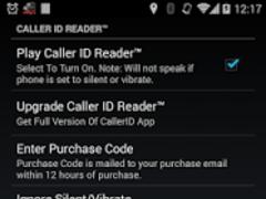 Caller ID Reader - Speak Calls 1.28 Screenshot