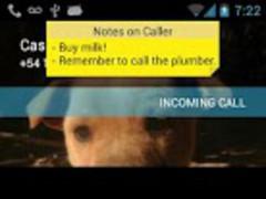 CallerID Notes PRO 1.0 Screenshot