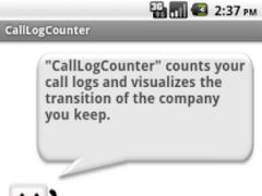 CallLogCounter 2.0 Screenshot