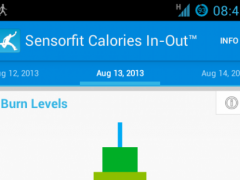 Sensorfit Calories In-Out 0.9.22 Screenshot