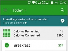 Review Screenshot - Calorie Counter – Reach Your Weight Loss Goals Quickly