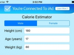 Calorie Estimator 1.1 Screenshot