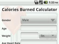 Calories Burned Calculator 2.9 Screenshot