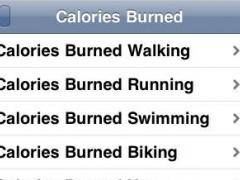 Calories Burned 1.5 Screenshot