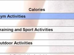 Calories Info 1.0 Screenshot