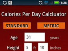 Calories Per Day Pro 1.2 Screenshot