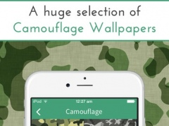 Camouflage Wallpapers and Backgrounds 1.1 Screenshot
