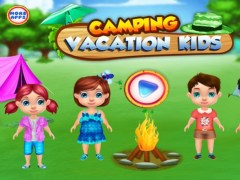 Camping Vacation Kids : summer camp games and camp activities in this game for kids and girls - FREE 1.0.1 Screenshot