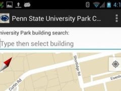Campus Map for Penn State 1.10 Screenshot