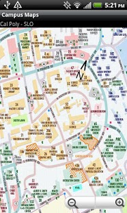campus map cal poly Campus Maps Cal Poly Slo 1 1 2 Free Download campus map cal poly