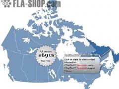 Canada Map Locator 1.0 Screenshot