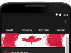 Canada Radios Stations 1.02 Screenshot
